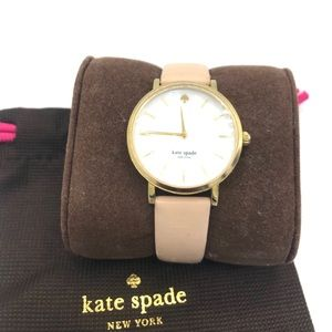 Authentic KATE SPADE Tan Leather Watch